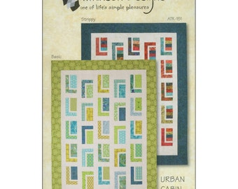Pattern - Urban Cabin Quilt by Atkinson Designs (ATD151) Paper Pattern