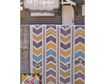 Pattern - Sketchy Quilt Pattern by Kati Cupcake (KCP157) Paper Pattern