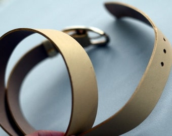 Pastel gold dress belt