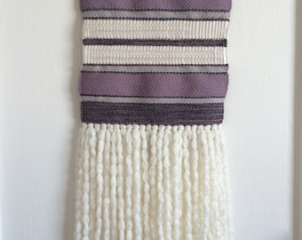 Lilac - Woven Wall Hanging