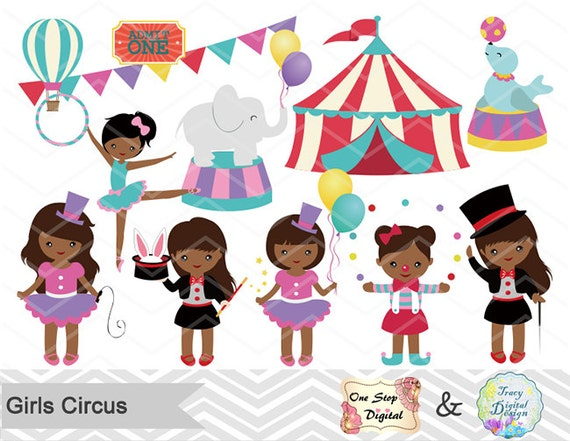 124 best images about CLIP ART - CIRCUS - CLIPART on ... |Circus Girl Art Print