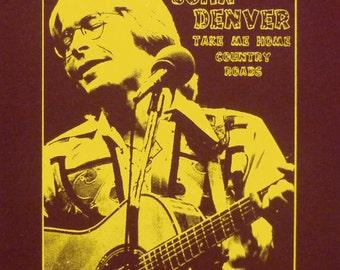 John Denver t shirt NEW S, M, L, XL