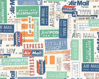 Vacation - Airmail - Makower UK - Andover (TP-1653-1)