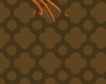 SALE Mendocino - Large Octopus Brown - Heather Ross - Windham (40939-2)