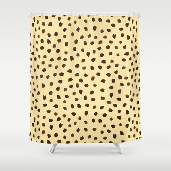 animal print shower curtain cheetah print girls shower