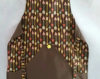 Child's apron for kitchen helper