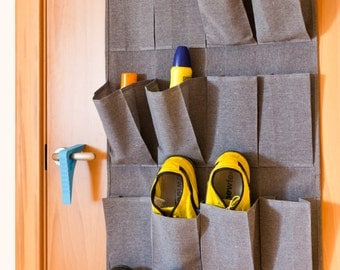 KanguruDoor OverDoor Organizer 24 Pockets by Comadeco recycle Cotton & Poliester