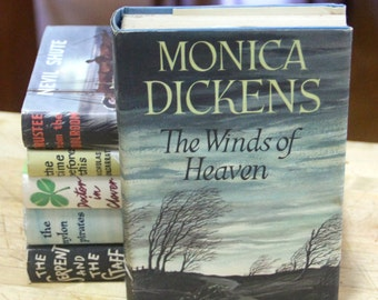 "Monica Dickens    ""The Winds of Heaven ""  The Book Club, London 1950s"