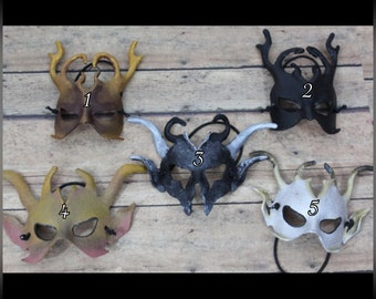 Doll SD BJD Goblin Leather MASK