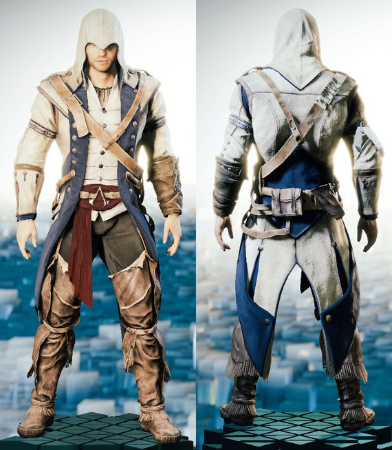 1790's Assassins Creed costume for Cole