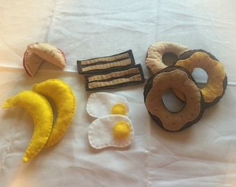 Felt Food- Breakfast Set #2