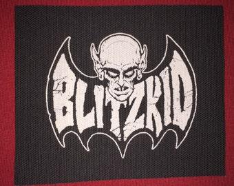 Bltzkid Cloth Punk Patch