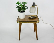 Mid Century Atomic Age stool // Coffee Table // Plant Stool // Germany 1950s