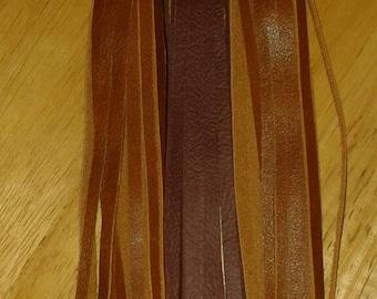 Handmade Leather Tassels