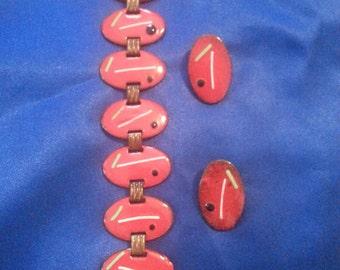 Vintage Enamel Jewelry