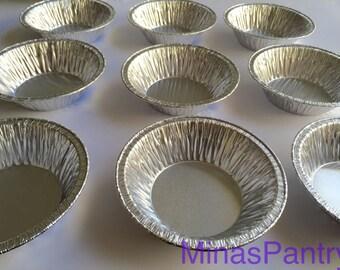 FREE SHIPPING 50 Aluminum Casserole Pot Pie Pan Disposable