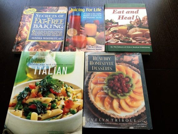 Fat Free Cookbooks 30