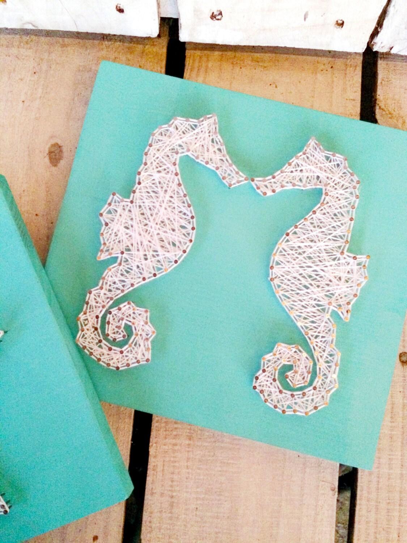 String Art String and Nail art Wall art Ocean Beach Star & String Art String and Nail art Wall art Ocean Beach Star ...