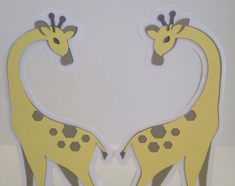 Giraffe Centerpieces, Giraffe Baby Shower, baby shower decorations, party decoration