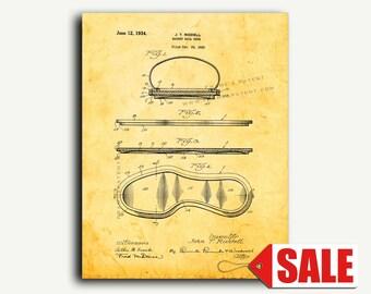 Patent Art - Basket Ball Shoe Patent Wall Art Print