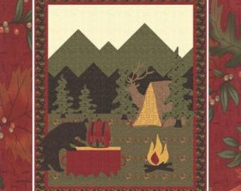 Into The Woods Quilt pattern by Barb Cherniwchan for Moda Fabrics. CHD 1517 by Coach House
