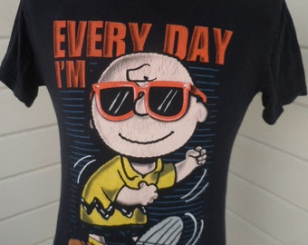 Size  S+ (42)  ** Charlie Brown Shirt (Single Sided)