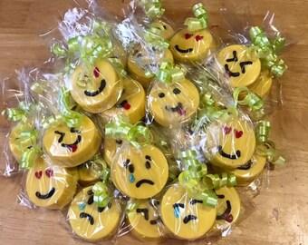 Emoji Double stuff Oreos -1 dozen-