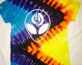Trippy Rave Tie-Dye T-shirt