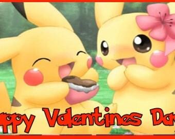 Pokemon Valentines Chocolate Wrap.