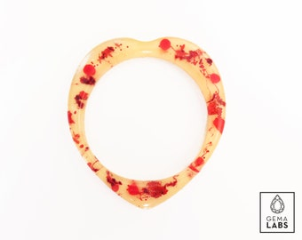 Designers Candy Blood Abstract Bangle