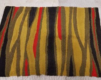 Small vintage Modern wool rug, 1960s