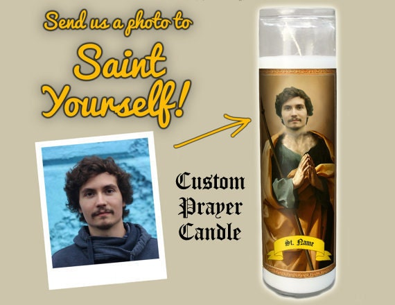The Wanderer Customized Prayer Candle Funny Gift for