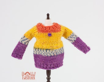 Sweater for Blythe Dolls
