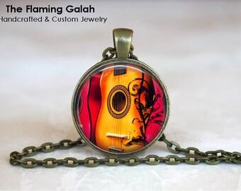 ACOUSTIC GUITAR Pendant • Bass Guitar • Electric Guitar • Guitar Player • Musician Gift • Gift Under 20 • Made in Australia (P0910)
