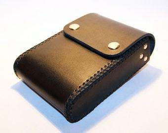 Belt Pouch! Leather Handmade Pouch! Black Belt Purse! Belt Bag! Hip Bag! Medieval Pouch! Leather Bag! Leather Purse!