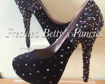 Crystal Black heels