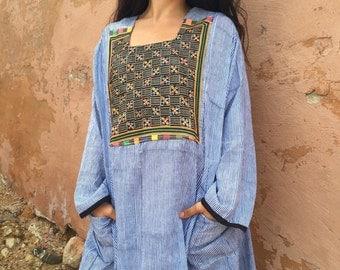 Indian vintage style long hippy dress