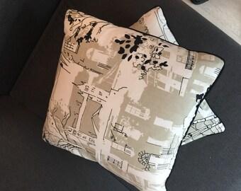 London Street Cushion