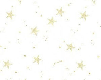 Boppy Cover - Lucky Stars in Metallic Gold