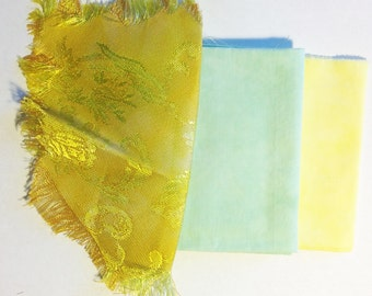 Hand Dyed Fabric Mix 13