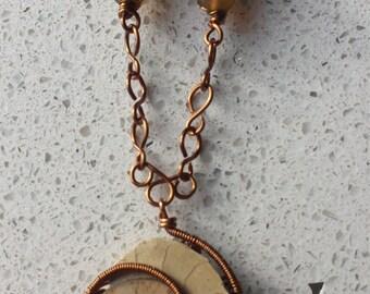 Ammonite Artisan Necklace