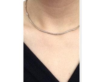 morse code necklaces - INEEDADRINK to UNDERWHELMED