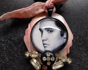 Elvis Love Me Tender- Vintage Choker Necklace