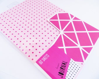 Geometric Heart Notebook