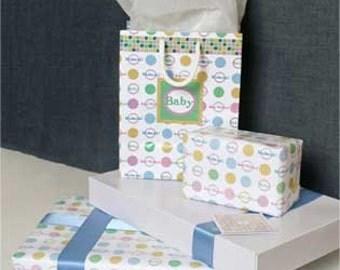 baby mubarak gift wrapping paper, baby gift wrap, islamic gift wrap, islamic decorations, Islamic art, Islamic greetings, Muslim gift wrap