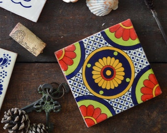 Marachi | Mexican Tile Coaster Set (4)