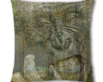 Gorilla Woods Design Cushion Cover (C775)