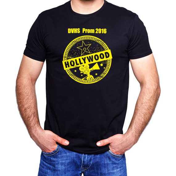 12 Custom Cheap Prom T Shirts Prom Hollywood Themed Prom Party