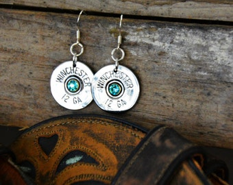 Shot gun shell earrings, Bullet jewelry, Earrings