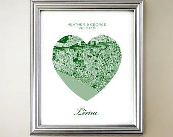 Lima Heart Map
